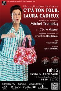 Laura Cadieux Avignon 2015