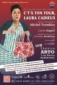 Affiche Laura Cadieux 40x60 Avignon 2016 50%